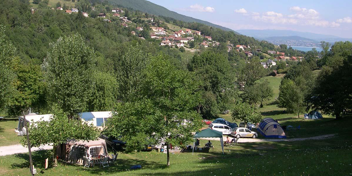 camping nature le cretoux à 4km du lac d